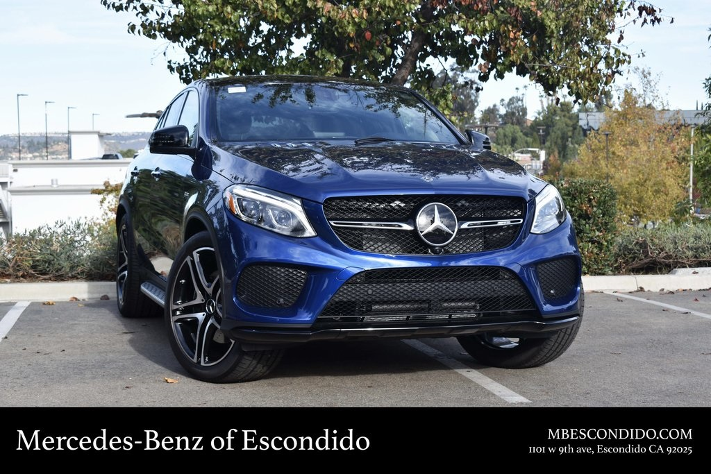 New 2019 Mercedes Benz Gle Amg Gle 43 Coupe Coupe In Escondido